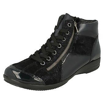 Damas Casual Rieker ATA para arriba el tobillo botas L3633