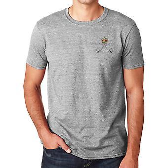 Corpo de treinamento físico do exército real RAPTC bordado logotipo - exército britânico oficial Ringspun T-Shirt