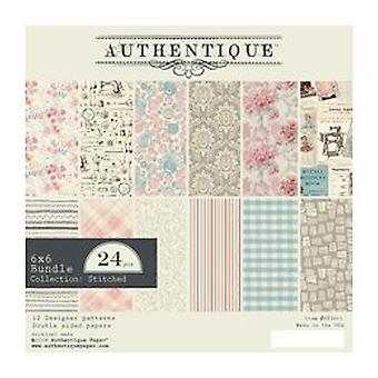 Authentique Stitches 6x6 Inch Paper Pad (STI011)