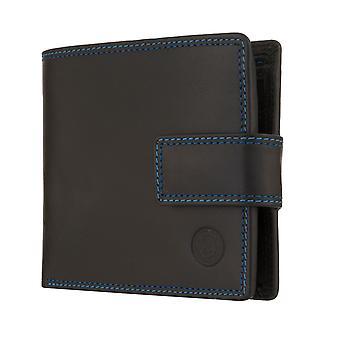MIGUEL BELLIDO heren portemonnee portemonnee met RFID-chip bescherming zwart 7973
