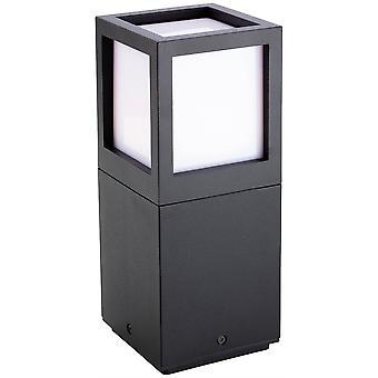 Erstlicht-LED 1 Light Outdoor Small Bollard Light Graphite IP54-3421GP