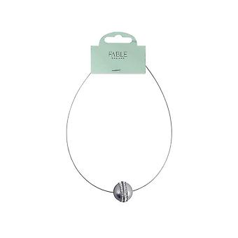 Fable Womens/Ladies Ball Necklace