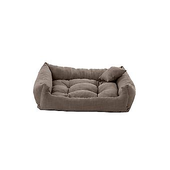 PetKlub� Slate 70cm x 55cm Tufted Dog Bed