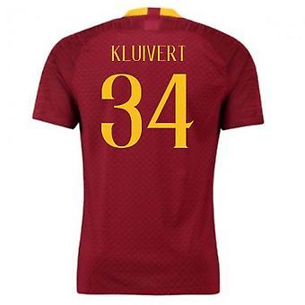 2018-2019 AS Roma Home Nike Football Shirt (Kluivert 34) - Kids
