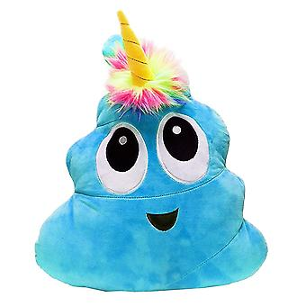 Poonicorn 40cm Plush Pillow - Blue