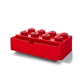 Lego tijolo mesa de armazenamento gaveta 8
