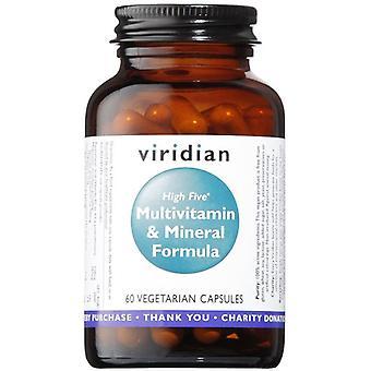Viridian HIGH FIVE Multivitamin & Mineral Formula Veg Caps 60 (111)