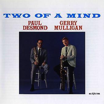 Paul Desmond & Gerry Mulligan - Two of a Mind (180 Gram Vinyl) [Vinyl] USA import