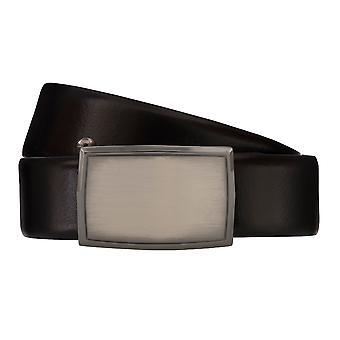 Cintos de cinto cinto masculino do LLOYD homens couro cinto preto de couro 4066