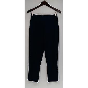 Linea de Louis Dell'Olio Pantalones Ponte Crop Azul Marino A302601