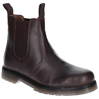 Amblers Femmes Chelmsford Slip On Dealer Boot Brown