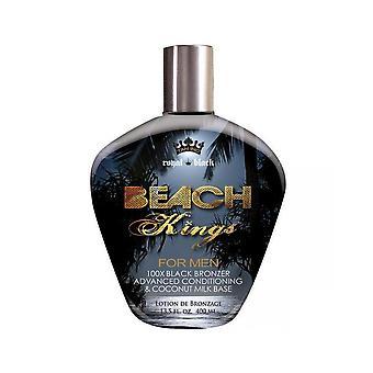 Tan Incorporated Beach Kings Black Bronzer Ultra Dark Mens Tanning Lotion - 400ml