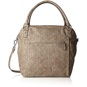 s. Oliver (bags) Shopper-bolsas Donna Braun (amêndoa) 13x33x44cm (B x H T)