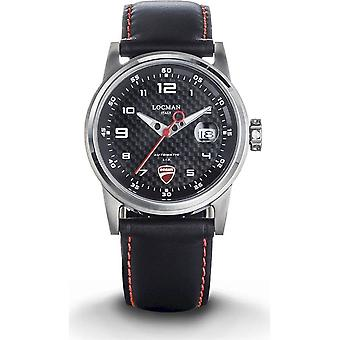 LOCMAN - wrist watch - men - d104a09s-00cbipkr - DUCATI THREE HANDS QUARTZ