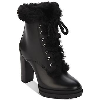 DKNY Womens Darcy lace up Closed Toe Mid-Calf Cold Weather Boots