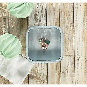 Nibbling Bola-terhesség nyaklánc-smaragd/víz