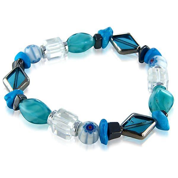 Turquoise Cristallo Carousel Bracelet