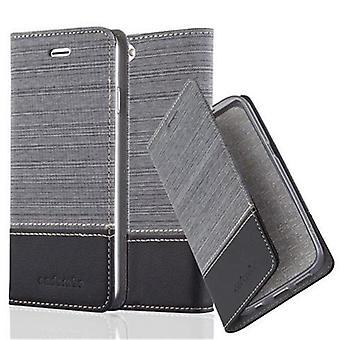 Cadorabo Hülle für Apple iPhone 6 PLUS / iPhone 6S PLUS Case Cover - Handyhülle mit Magnetverschluss, Standfunktion und Kartenfach – Case Cover Schutzhülle Etui Tasche Book Klapp Style