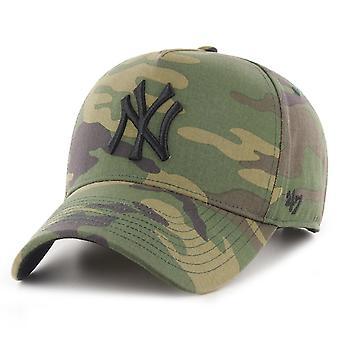 47 merk ontspannen fit cap-GROVE New York Yankees hout Camo