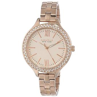 Caravelle New York Clock Donna Ref. 44L125