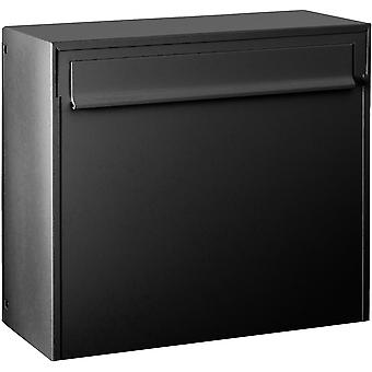 Max Knobloch fence letter box Fargo IV anthracite grey (RAL 7016) 20 litre box