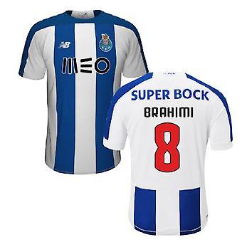 2019-2020 قميص نادي بورتو لكرة القدم الرئيسية (الإبراهيمي 8)