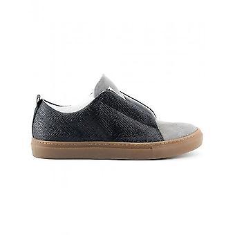 Made in Italia-Sko-Sneakers-GREGORIO_NERO_ASH-menn-svart, grå-45