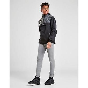 New Rascal Kids' Compound 1/4 Zip Jacket Black