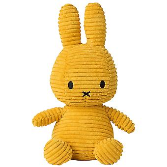 Miffy Bunny Corduroy Soft Toy, Yellow