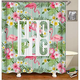 Tropic Flamingo Shower Curtain