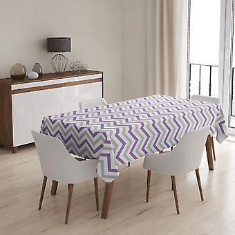 Meesoz Tischdecke - Trendy Zigzags Violet II
