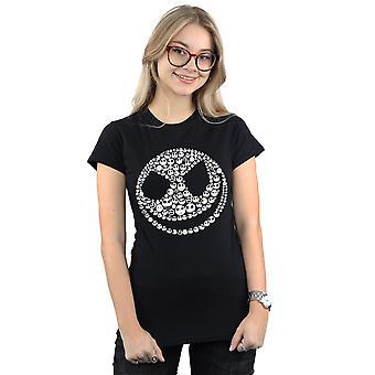 Disney kvinder ' s mareridt før jul Jack Skull collage T-shirt
