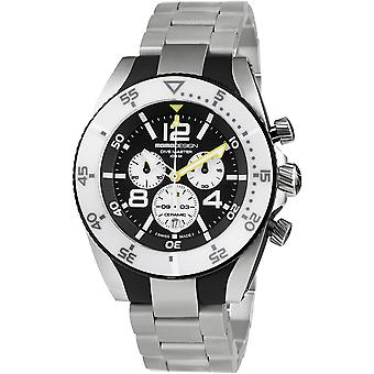 MOMO Design Dive Master Watch MD1281WT-20 - Stainless Steel Gents Quartz Chronograph
