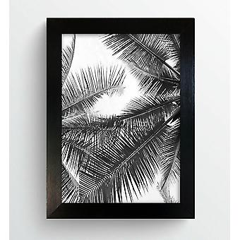 Modern Black Photo Frame Contemporary Picture Poster Wide 721 Wall Mounted UK Style