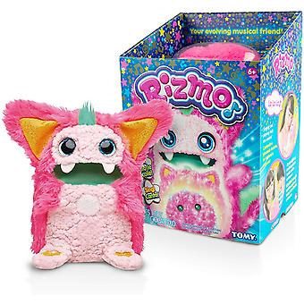 Rizmo Your Evolving Musical Friend - Cute Interactive Electronic Peluche Pet for Children Age 6 - Berry