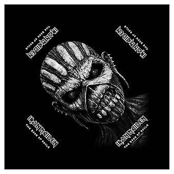 Iron Maiden Bandana Book of Souls Album Cover Official New Black (21in x 21in)