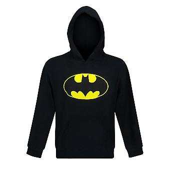 Batman-symboli nuorten huppari