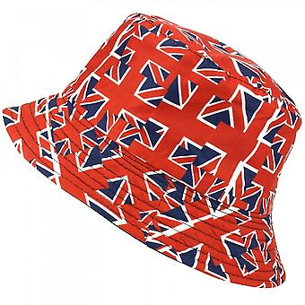 Union Jack Wear Union Jack lippu ämpäri hattu