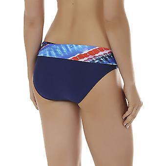 Seaspray 08-1350 Women's Crete Blue and Orange Bikini Bottom