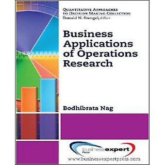 Business Applications of Operations Research by Nag & Bodhibrata