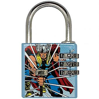 Marvel Comics Brass Padlock Thor