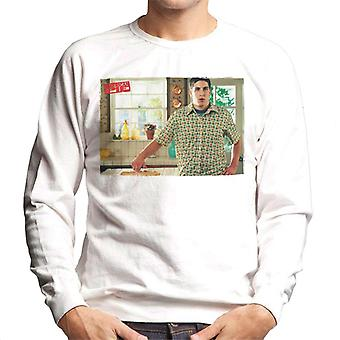 American Pie Jim Touches Pie Men's Sweatshirt