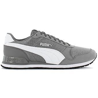 Puma ST Runner V2 Mesh 366811-06 Herren Schuhe Grau Sneaker Sportschuhe