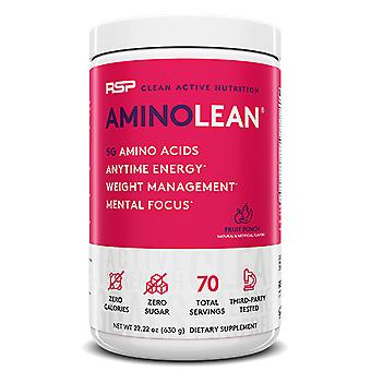 Rsp aminolean - pre-workout energy, fat burner powder, amino acids, recovery, fruit punch