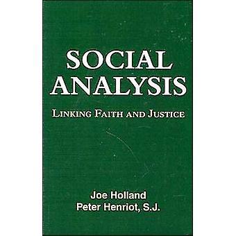Social analys linking tro och rättvisa av Joe Holland & Peter Henriot