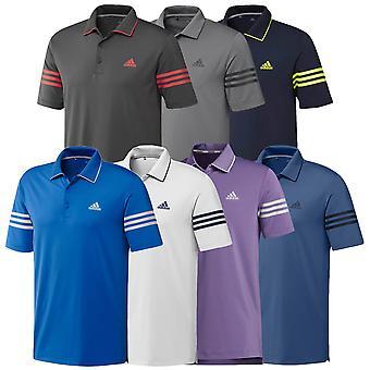 adidas Golf Herren 2020 Ultimate365 Block Feuchtigkeit Wicking 3-Streifen Polo Shirt
