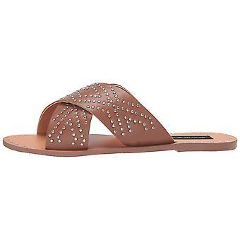 Steven Steve Madden Women's Girlish Sandal, Cognac Multi, 5 M US