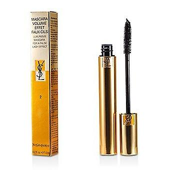 Yves Saint Laurent Mascara Volume Effet Faux Cils (luxuriöse Mascara) - 02 Rich Brown 7,5 ml/0,25 Unzen