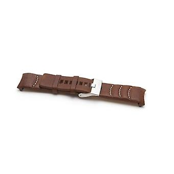 Authentic diesel leather watch strap for  dz4037