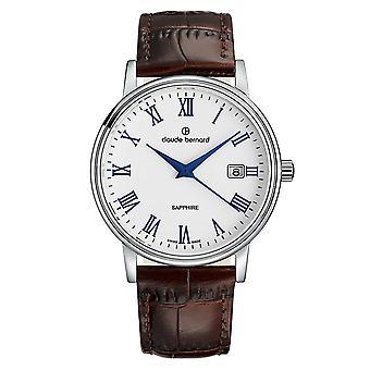 Claude Bernard - Watch - Men - Classic Gents 42mm - 53009 3 ARBUN